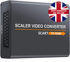SCART to HDMI Converter Scaler Video Adaptor for 1080P HDTV Sky DVD Consoles UK