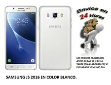 Telefono Movil SAMSUNG Galaxy J5 2016 Color BLANCO SMARTHPHONE LIBRE. 16GB, 4G
