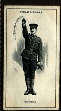 Tobacco Card, Imperial Canada, INFANTRY TRAINING, 1915, Field Signals, #46