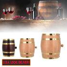 1.5L/3L/5L  Wood Oak Timber Wine Barrel For Beer Whiskey Rum Port Wooden Keg L