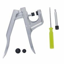 Snap Fastener Pliers Press Stud Setter Sewing Craft Tool Kit ED
