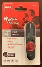 NEW RCA Rechargeable 4GB MP3 Player with FM Tuner and 2.0 USB (USBTH2014T)