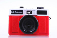 Holga 135BC White / Red Film Camera (discontinued)