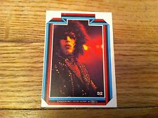 1978 KISS Paul Stanley #52 Non-Sport Trading Card Kiss Hard Rock Heavy Metal old