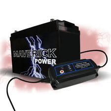 Battery AGM 145a Charger Power 12v Sealed Deep cycle Solar Caravan
