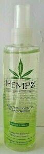 2X HEMPZ Spray After Sun Cooling Gel Hydrate Skin Helps Prevent Peeling 8.5oz