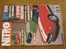 $$$ Revue Nitro Magazine N°69 MustangDaytonaRod Chevy 40ShelbyFastback