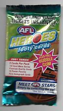2001 Esp AFL Heroes - Unopened Pack