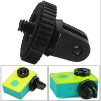 "Mini 1/4"" Monopod Tripod Mount Adapter with Screw Thread For GoPro Hero1 2 3CSYC"