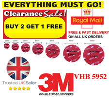 Double-Sided-Self-Adhesive-Sticker-  BUY 2 SETS GET 1 SET FREE  NEW & IMPROVED