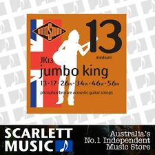 Rotosound Jumbo King Phospher Bronze Acoustic Guitar Strings 13-56 *BRAND NEW*