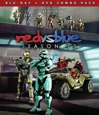 RED VS BLUE SEASON 13 New Sealed Blu-ray + DVD RvB Halo