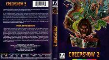 CREEPSHOW 2 - Arrow Blu-ray - Special edition - Like new! Rare Horror Retro