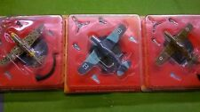 Italian Die Cast Models x 3 Military Aircraft Fighters - World War II