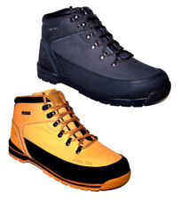 Groundwork Work Boots for Men with Upper Leather Shoes
