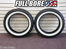 Full Bore MT90HB-16 & MT90HB-16 WhiteWall Tire Set Harley-Davidson FLH/FLT/FLST