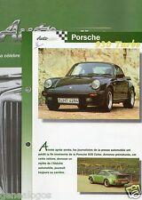 FASCICULE DELPRADO 16 REVUE AUTO COLLECTOR PORSCHE 930 TURBO TOYOPET TIARA SKODA
