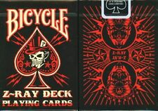 CARTE DA GIOCO BICYCLE Z-RAY,poker size