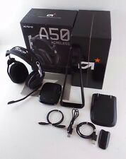 Astro A50 Wireless Headset Headphones W/ Box for PS4, PS3, PC MAC / READ #kd48j