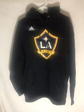 Adidas LA Galaxy Sweater Pullover Hoodie Men's Size XL New
