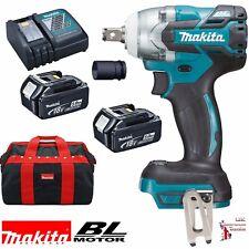 """Makita DTW285TX2 18v Li-Ion Brushless LXT 1/2"""" Impact Wrench Nut Runner 2 5.0Ah"""
