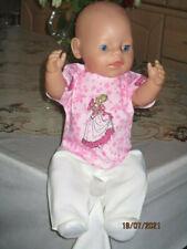 Baby Born  Kleidung gr 43 cm 3 teilig  ohne Puppe neu