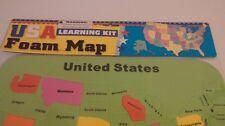 USA Foam Map Set Learning Kit