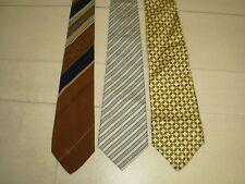 Lot de 3 cravates en Soie Homme