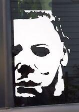 Halloween Michael Myers 12 inch tall Vinyl Decal Horror Jason Freddy