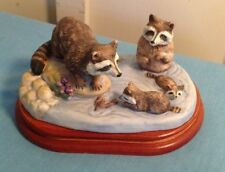 Royal Windsor, 1984 Southern Living Raccoon 2746/19,500 With Certificate