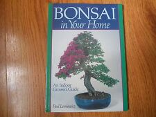 BONSAI IN YOUR HOME  - An Indoor Growers Guide - Lesniewicz  1996