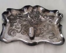 Rare Art Nouveau Pen Tray Cigar DERBY Silver Co. 1544 and B c.1898-1928