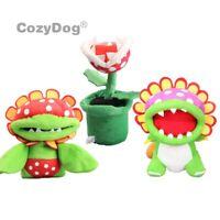 New Super Mario Bros Flower Dino Petey Piranha Plant Stuffed Plush Doll Soft Toy