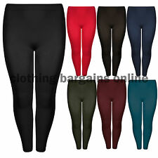 Unbranded Cotton Blend Solid Leggings for Women