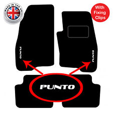 Fiat Grande Punto & Abarth 05 to 2009 Tailored Carpet Car Floor Mats with logo