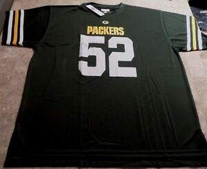 Clay Matthews III Green Bay Packers Synthetic Jersey 3XL Green Majestic NFL