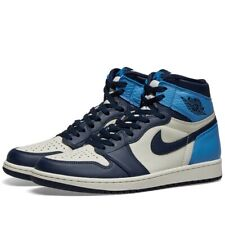 Nike Air Jordan 1 Retro High OG Obsidian UNC Blue White UK 7.5 US 8.5 EU 42
