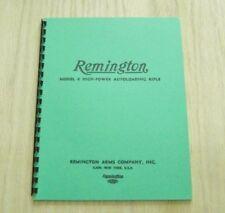 Remington Model 8 Autoloading Rifle Manual - #85