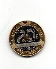 20 FRANCS MONT SAINT MICHEL 1994 ABEILLE SUPERBE