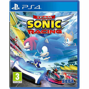 Team Sonic Racing PS4 PLAYSTATION New and Sealed