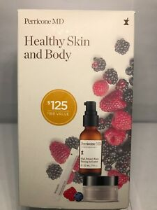 Perricone MD Healthy Skin and Body Set, Cold Plasma/Super Berry/Face Activator