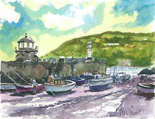 St Ives water colour version 4 print