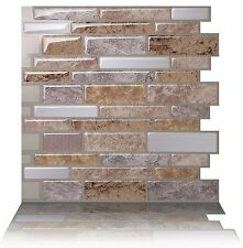 Tic Tac Tiles - Premium 3D Peel & Stick Wall Tile in Polito Fresco (10 sheets)