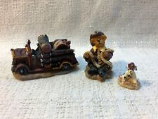 Boyds Bearly Built Villages Town Volunteer Firestation Accessories 19507-1