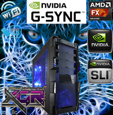AMD Gaming Desktop PC Computer 4.3 GHz New Fast 8-Core Custom Built Gaming RIG