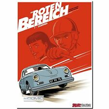 In the Red 1 Carrera 9783899085921 Racing Driver Comic Strips Rowdy LP 50er