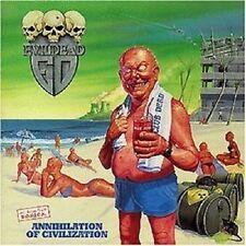 """Evildead """"Annihilation Of Civilization"""" CD --- 9 titolo merce NUOVA ---"""
