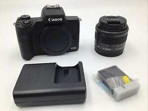 Canon EOS M50 Mark II EF-M15-45 IS STM - USED (READ)