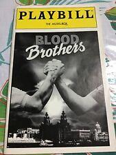 Blood Brothers Broadway Playbill  1995 Helen Reddy