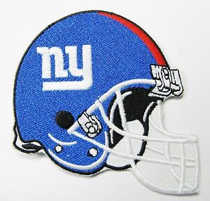 LOT OF (1) NEW NFL NEW YORK GIANTS EMBROIDERED HELMET PATCH (TYPE B) # 13